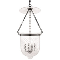 Hampton 4 Light 15 inch Historic Nickel Pendant Ceiling Light in C2