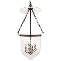 Hampton 4 Light 15 inch Old Bronze Pendant Ceiling Light in C2