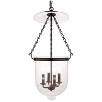 Hudson Valley 255-OB-C3 Hampton 4 Light 15 inch Old Bronze Pendant Ceiling Light in C3