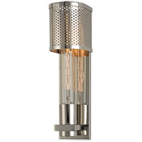 Hudson Valley Lighting Meridian 1 Light Fluorescent Wall Sconce in Polished Nickel 2611-PN