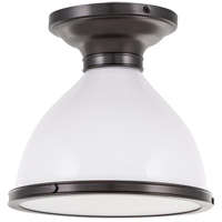 Hudson Valley Lighting Randolph 1 Light Semi Flush in Historic Bronze 2612-HB