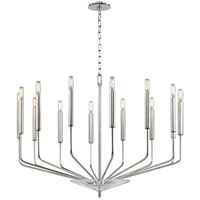 Gideon 14 Light 33 inch Polished Nickel Chandelier Ceiling Light