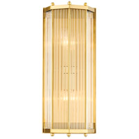 Hudson Valley 2616-AGB Wembley 2 Light Aged Brass ADA Wall Sconce Wall Light