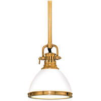 Randolph 1 Light 7 inch Aged Brass Pendant Ceiling Light
