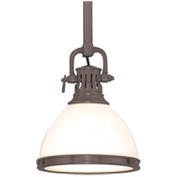Hudson Valley Lighting Randolph 1 Light Pendant in Historic Bronze 2621-HB