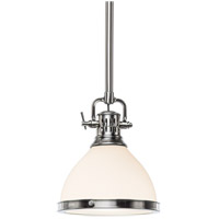 Hudson Valley Lighting Randolph 1 Light Pendant in Satin Nickel 2621-SN