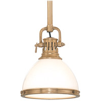 Randolph 1 Light 10 inch Aged Brass Pendant Ceiling Light