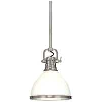 Hudson Valley Lighting Randolph 1 Light Pendant in Polished Nickel 2622-PN