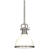 Hudson Valley Lighting Randolph 1 Light Pendant in Satin Nickel 2622-SN