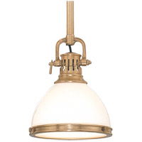 Hudson Valley Lighting Randolph 1 Light Pendant in Aged Brass 2623-AGB