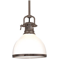 Randolph 1 Light 13 inch Historic Bronze Pendant Ceiling Light