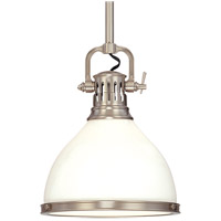 Hudson Valley Lighting Randolph 1 Light Pendant in Satin Nickel 2623-SN