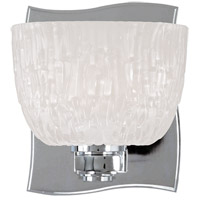 Cove Neck 1 Light 5 inch Polished Chrome Bath And Vanity Wall Light
