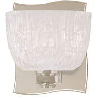 Cove Neck 1 Light 5 inch Satin Nickel Bath And Vanity Wall Light