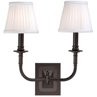Lombard 2 Light 14 inch Old Bronze Wall Sconce Wall Light