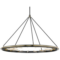 Chambers 15 Light 58 inch Aged Old Bronze Pendant Ceiling Light