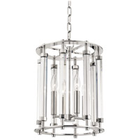 Hudson Valley 2812-PN Haddon 4 Light 12 inch Polished Nickel Pendant Ceiling Light