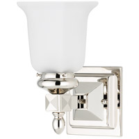 Hudson Valley Lighting Cumberland 1 Light Bath And Vanity in Polished Nickel 2821-PN