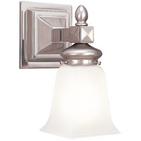 Cumberland 1 Light 5 inch Satin Nickel Bath And Vanity Wall Light