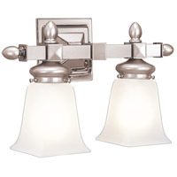 Cumberland 2 Light 15 inch Satin Nickel Bath And Vanity Wall Light