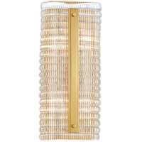 Hudson Valley 2854-AGB Athens 4 Light Aged Brass Wall Sconce Wall Light