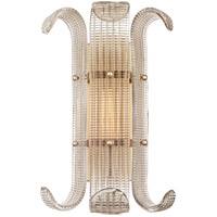 Hudson Valley Brasher 1 Light Wall Sconce in Aged Brass 2900-AGB