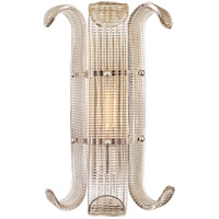 Hudson Valley Brasher 1 Light Wall Sconce in Polished Nickel 2900-PN