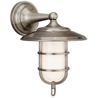 Hudson Valley 2901-AN Rockford 1 Light 9 inch Antique Nickel Bath And Vanity Wall Light photo thumbnail