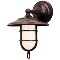 Hudson Valley 2901-OB Rockford 1 Light 9 inch Old Bronze Bath And Vanity Wall Light photo thumbnail