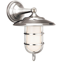 Rockford 1 Light 9 inch Polished Nickel Bath And Vanity Wall Light