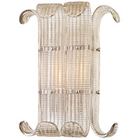 Brasher 2 Light 12 inch Polished Nickel Wall Sconce Wall Light