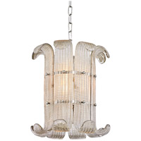 Hudson Valley 2904-PN Brasher 4 Light 15 inch Polished Nickel Chandelier Ceiling Light