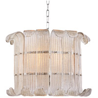 Brasher 8 Light 23 inch Polished Nickel Chandelier Ceiling Light