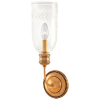Lafayette 1 Light 5 inch Aged Brass Wall Sconce Wall Light