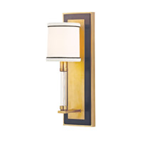 Hudson Valley Lighting Collins Wall Sconce in Aged Brass 2910-AGB
