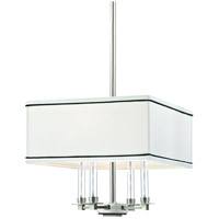 Collins 4 Light 14 inch Polished Nickel Chandelier Ceiling Light