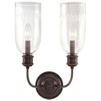 Hudson Valley Lighting Lafayette 2 Light Wall Sconce in Old Bronze 292-OB