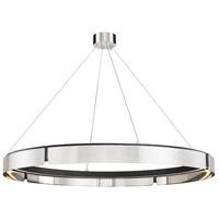 Hudson Valley 2949-BN/BK Tribeca LED 49 inch Burnished Nickel/Black Combo Chandelier Ceiling Light