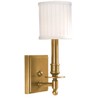 Hudson Valley 301-AGB Palmer 1 Light 5 inch Aged Brass Wall Sconce Wall Light