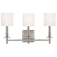 Hudson Valley 303-PN Palmer 3 Light 20 inch Polished Nickel Wall Sconce Wall Light
