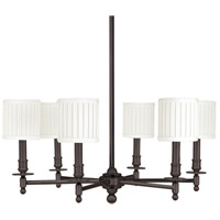 Hudson Valley 306-OB Palmer 6 Light 25 inch Old Bronze Chandelier Ceiling Light