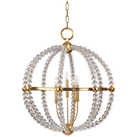 Danville 5 Light 30 inch Aged Brass Chandelier Ceiling Light