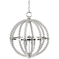 Hudson Valley Lighting Danville Chandelier in Polished Nickel 3130-PN