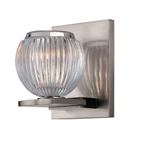 Hudson Valley Lighting Odem 1 Light Bath Vanity in Satin Nickel 3161-SN