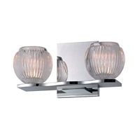 Hudson Valley Lighting Odem 2 Light Bath Vanity in Polished Chrome 3162-PC
