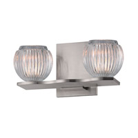 Hudson Valley Lighting Odem 2 Light Bath Vanity in Satin Nickel 3162-SN