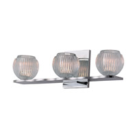 Hudson Valley Lighting Odem 3 Light Bath Vanity in Polished Chrome 3163-PC