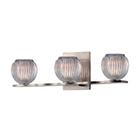 Hudson Valley Lighting Odem 3 Light Bath Vanity in Satin Nickel 3163-SN