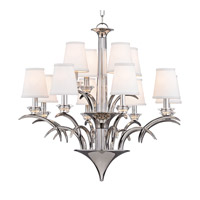 Marcellus 12 Light 33 inch Polished Nickel Chandelier Ceiling Light