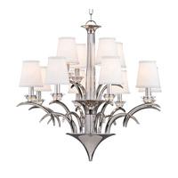 Hudson Valley 3199-PN Marcellus 12 Light 33 inch Polished Nickel Chandelier Ceiling Light